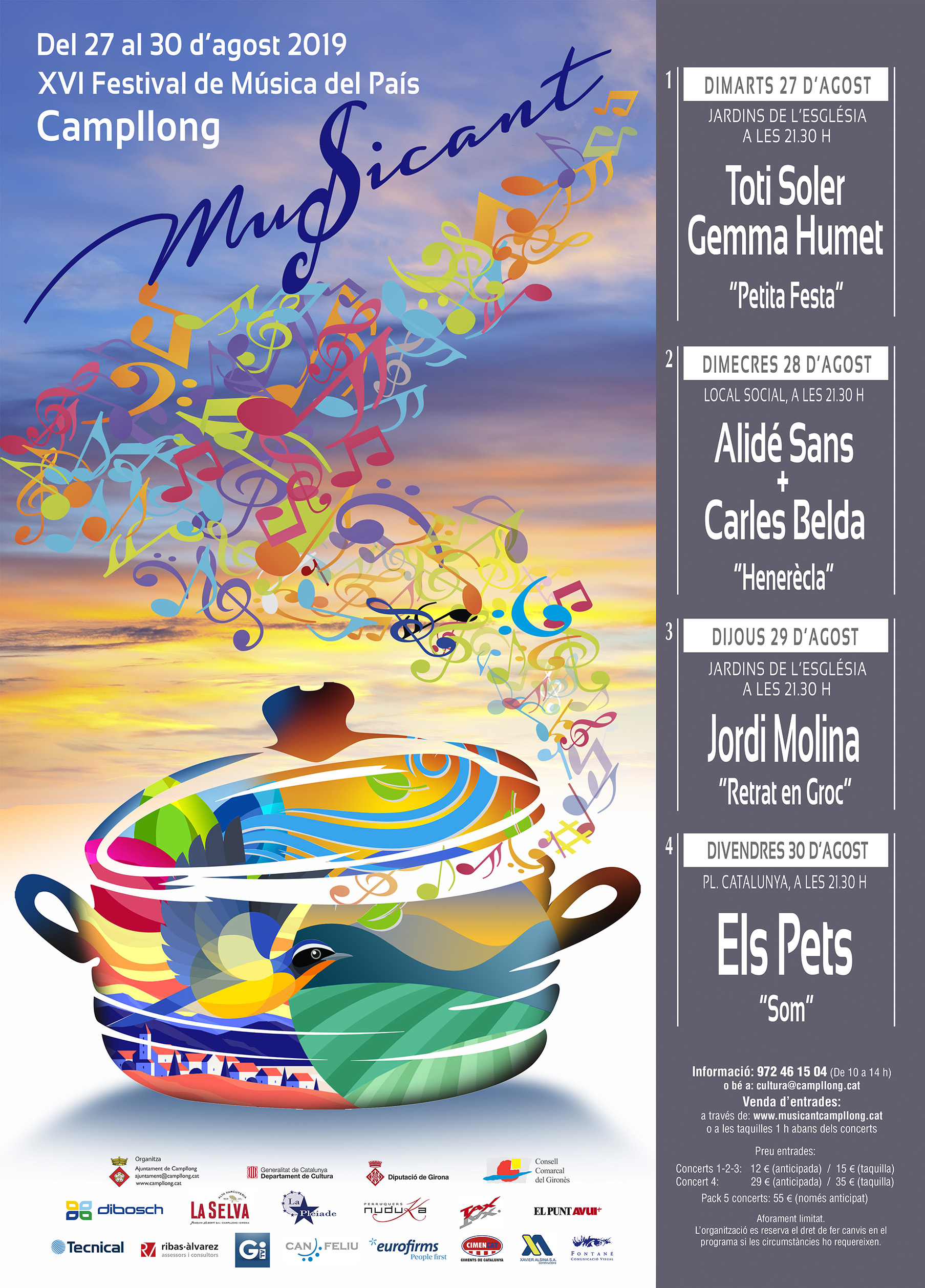 CARTELL MUSICANT 2019