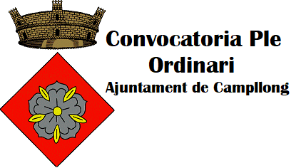 convocatoria Ple Ordinari